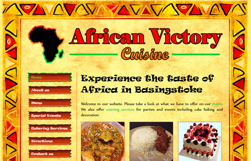 African Victory website