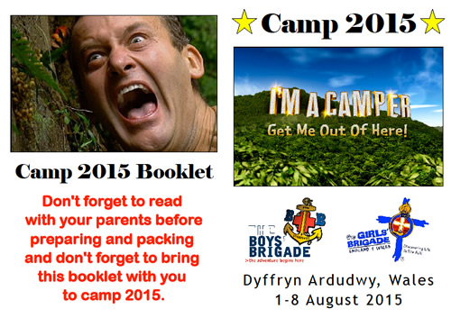 Camp 2015 front covers
