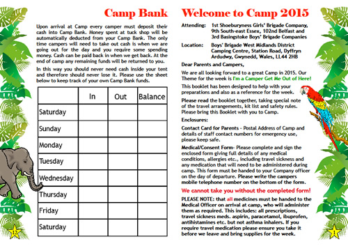 Camp 2015 pages 12 and 1